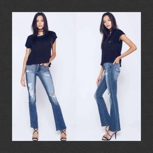 KanCan Distressed Bootcut Jeans